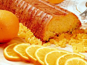 готовим апельсиновый кекс