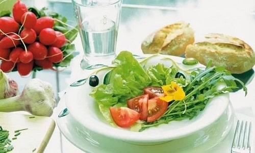 При цистите медового месяца показана диета