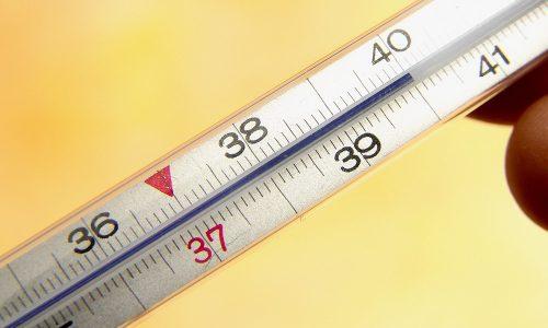 Повышение температуры тела - симптом перитонита и дизурии
