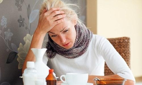 Ослабление иммунитета может стать причиной обострения цистита