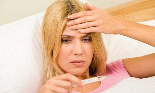 При развитии пиелонефрита у пациента повышается температура тела